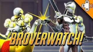 BROVERWATCH - Overwatch Funny & Epic Moments 352