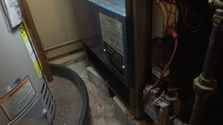 utica boiler clean gas burner tubes