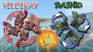 Rashid Sağ Click vs Yıldıray Sağ Click ? Hangisi Daha Etkili ? Robot Kurt ile  Troll :D
