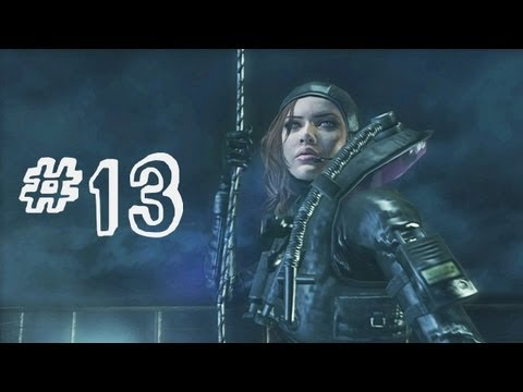Resident Evil Revelations Gameplay Walkthrough Part 13 - Cat and Mouse - Campaign Episode 6