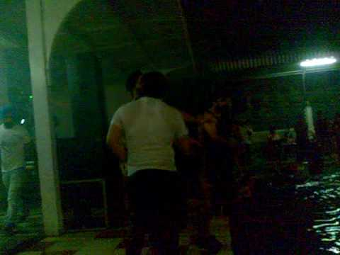 Pool  Rain dance hotel Dee Marks (dancing on saat samundar paar...