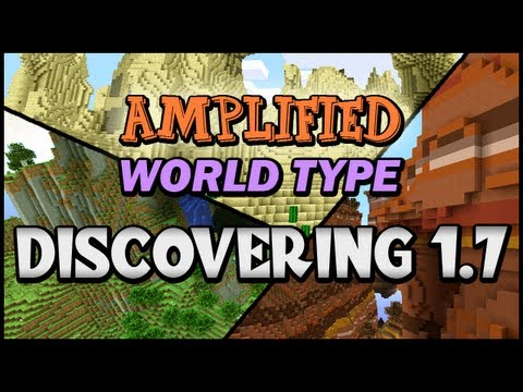 Minecraft Discovering 1.7 :: Amplified World Type