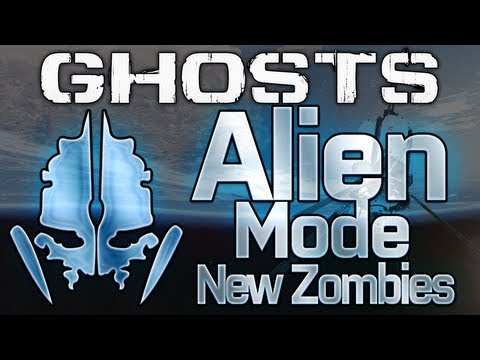 Call of Duty: Ghosts - ALIENS Mode! New Zombies: