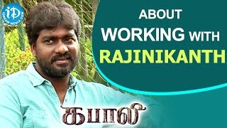 Kabali Cinematographer G Murali about Working With Rajinikanth || Kollywood Talks With iDream