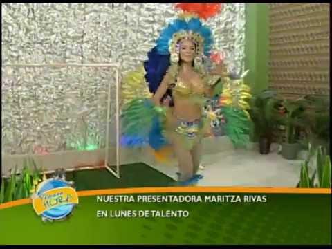 Lunes de Talento - Maritza baila samba