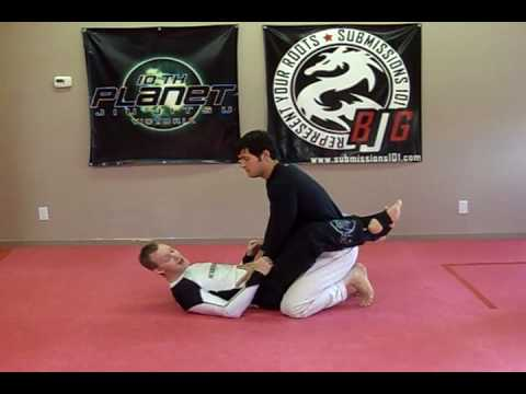 Double Ankle Sweep from Guard Image 1