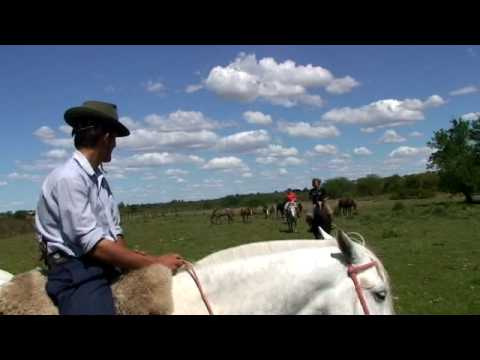 Horseback riding with gauchos on the pampas - Hesteridning med gauchoer på pampasen