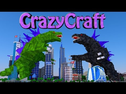 Minecraft | CrazyCraft - OreSpawn Modded Survival Ep 98 -
