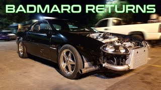 BADMARO RETURNS TO THE STREETS | Turbo Camaro SS vs Nitrous S10