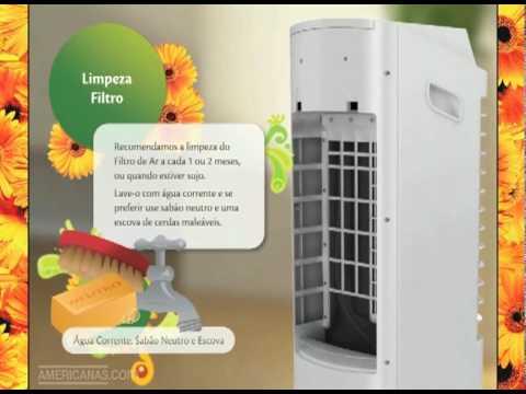 Americanas.com   Climatizador e Umidificador de Ar Frio Consul C1L06C