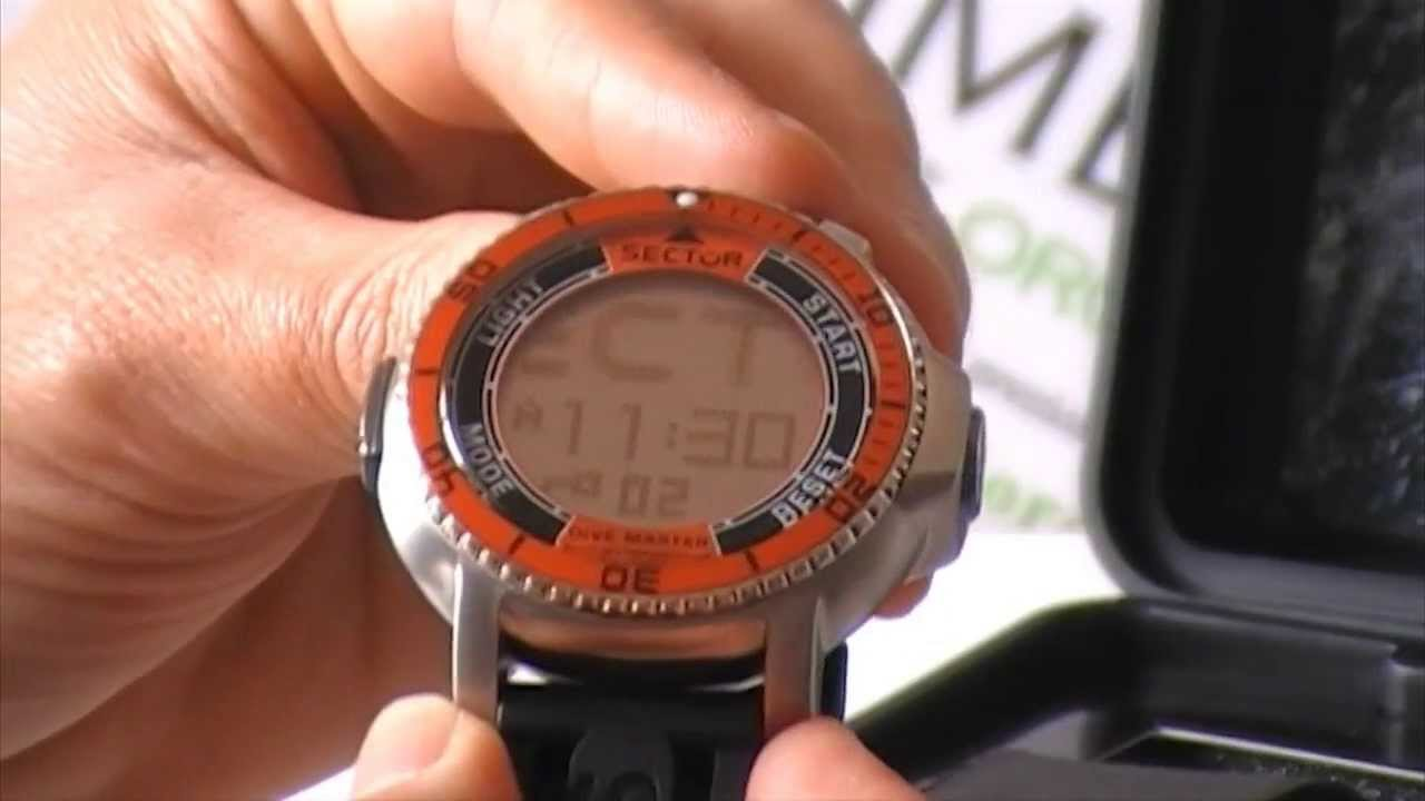 Video orologio sector dive master youtube - Sector dive master ...