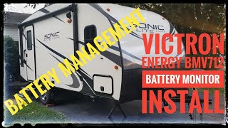 Victron Energy BMV712 -  Battery Monitor Install
