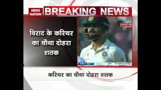 India vs Bangladesh: Virat Kohli scores 4th double century