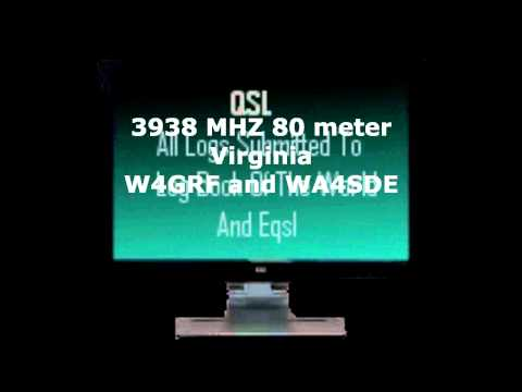 3938 MHZ 80 Meters Amateur Radio Hate Speech
