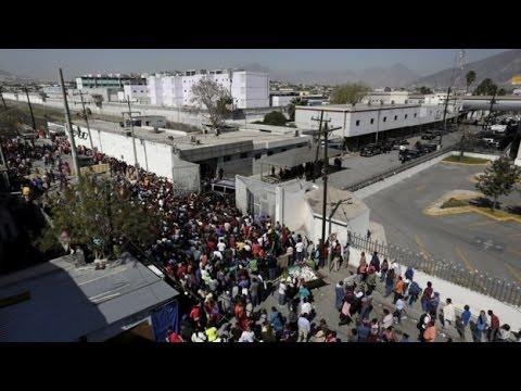Mexico prison riot leaves 49 dead near Monterrey