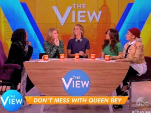 Raven Symone discusses her Lil' Kim/Beyonce drama on The View (2015)