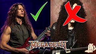 Dave Mustaine: Chris Broderick is BETTER Than Marty Friedman! | Megadeth Guitarists