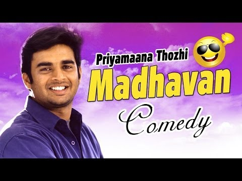 Priyamana Thozhi | Tamil Movie Comedy | R. Madhavan | Jyothika | Sridevi | Ramesh Khanna | video