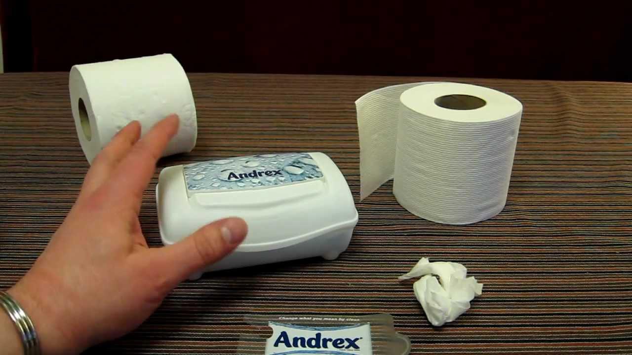 Andrex Washlets Flushable Toilet Tissue Wipes Review