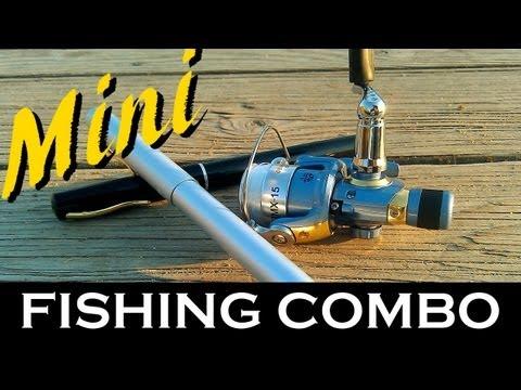 Small Fishing Rods And Reels ▶ Mini Fishing Rod Reel