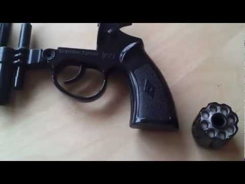 How to make a BB gun out of a cap gun