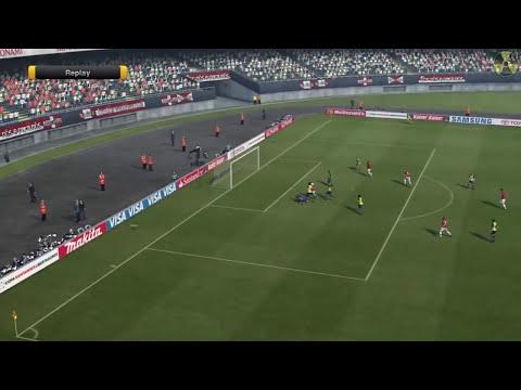 PES 2012: Xbox 360 Gameplay in HD (Internacional 4-3 America)