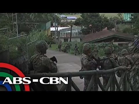 Video AFP continues Airstrikes vs Maute Group in Marawi City