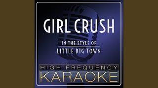 Girl Crush Instrumental Version