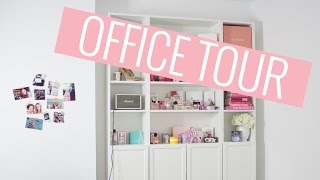 Office tour | My filming & beauty room | Style playground