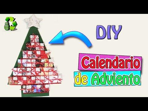 140. DIY CALENDARIO DE ADVIENTO (RECICLAJE DE CARTÓN Y PAPEL)