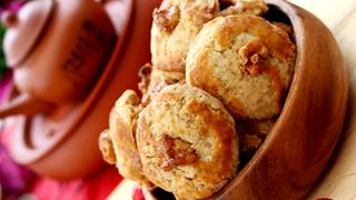 ASMR: How To Make Walnut Cookies Recipe 合桃酥 核桃酥