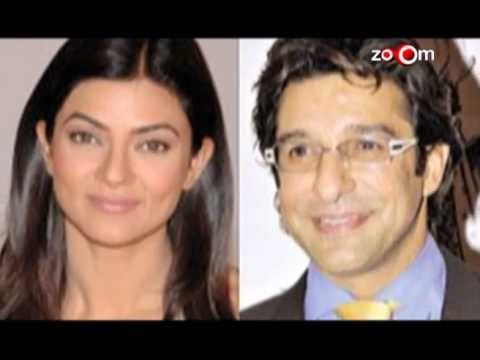 Sushmita Sen rubbishes rumours of her marriage with former Pakistani cricketer Wasim Akram