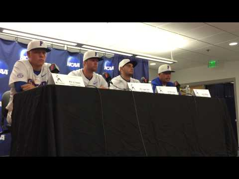 Florida Gators Baseball Post Super Regional Game 1