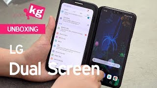 LG Dual Screen for V50 ThinQ Unboxing [4K]