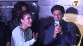 Shah Rukh Khan Singing Janam Janam And Tukur Tukur | Live Performance