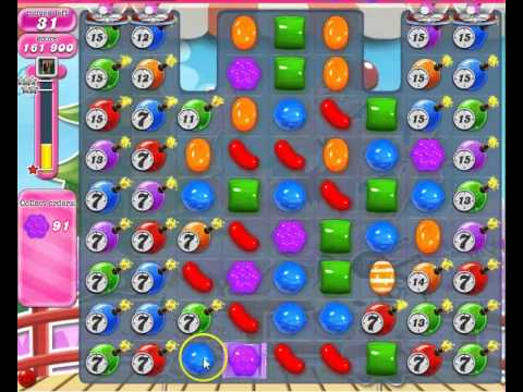 Candy Crush Saga Level 147 Strategy No Boosters.