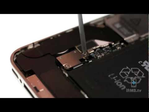 Loud Speaker Repair - iPhone 4S How to Tutorial