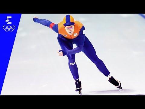 Speed Skating | Ladies' 1500m Highlights | Pyeongchang 2018 | Eurosport