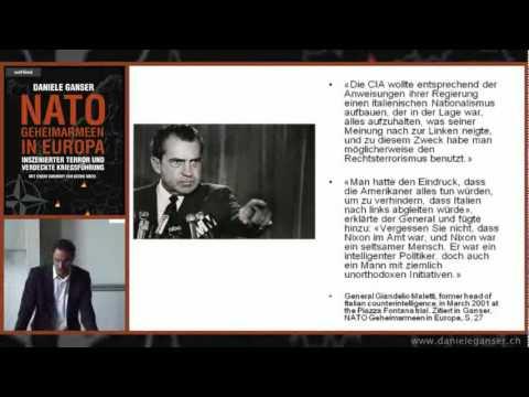 NATO Geheimarmeen - Prof. Daniele Ganser