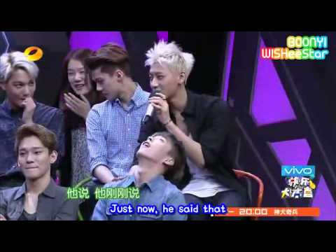 EXO - 140705 Happy Camp 快乐大本营 (eng subbed) Music Videos