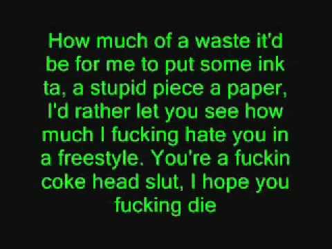 Eminem - Puke [lyrics] video