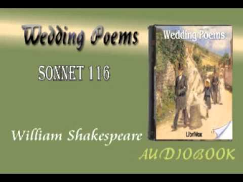 """the definition of love in sonnet 116 a book by william shakespeare William shakespeare puts forth his definition of what makes love true in his untitled sonnet beginning with """"let me not to the marriage of true minds."""