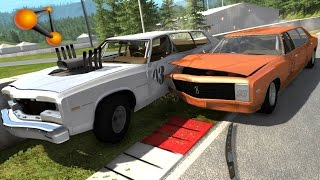 BeamNG.Drive Mod : Bruckell Moonhawk Addons (Crash test)