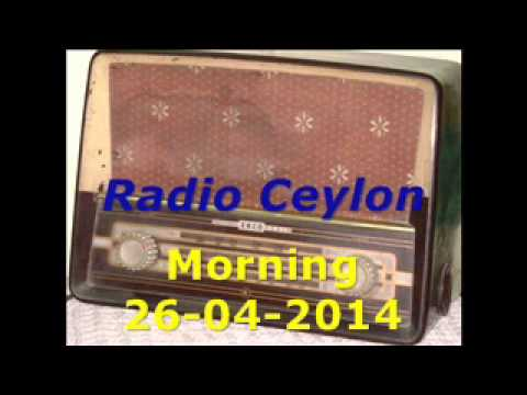 Radio Ceylon 26-04-2014~Saturday Morning~03 Aapki Pasand