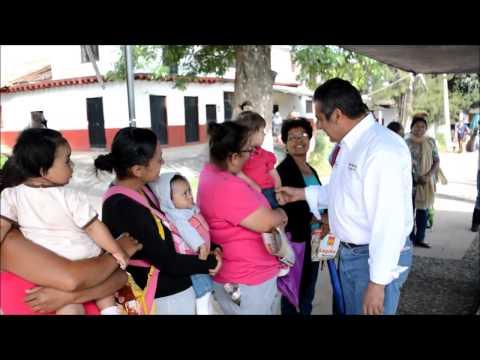 Visita Raúl Morón tenencia de Tiripetío