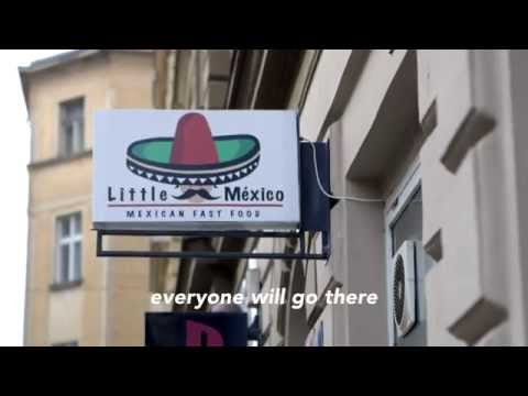 Little Mexico Promo Video, Mexican Fast Food Restaurant in Prague, Czech Republic