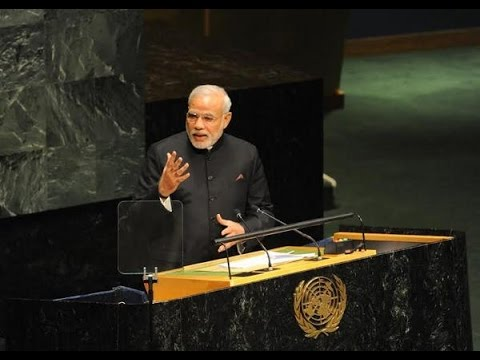 Narendra Modi's UNGA Speech - Part 1