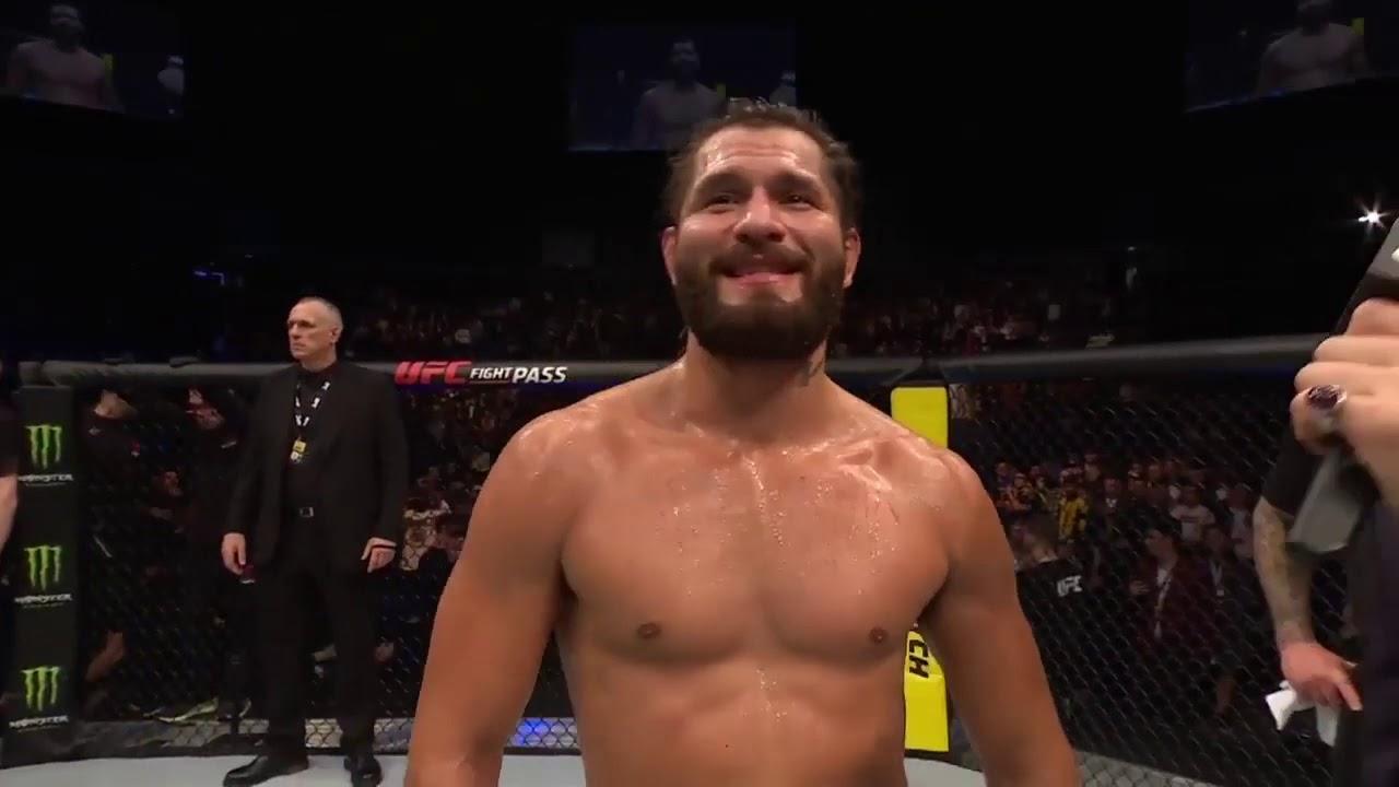 UFC Лондон: Хорхе Масвидаль - Слова после боя