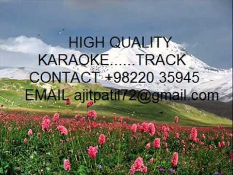 Aisa Na Hoke In Waadiyon Mein   Mohammad Rafi Karaoke Akhari Dao video