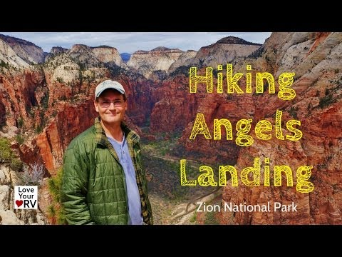 Hike to Angels Landing in Zion National Park, Utah